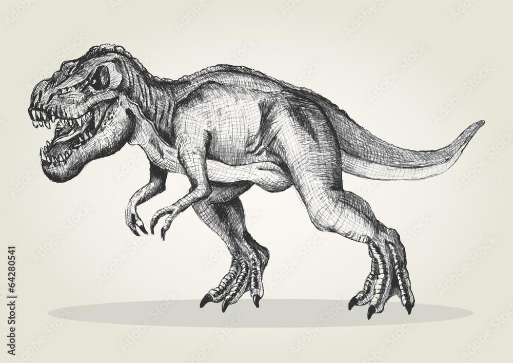 ausmalbilder dinosaurier fleischfresser
