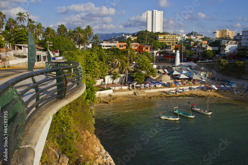 Slika na platnu View from embankment of Acapulco