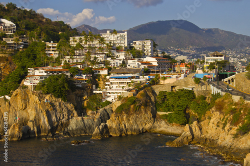 Fotografija  View of rocky coast of Acapulco