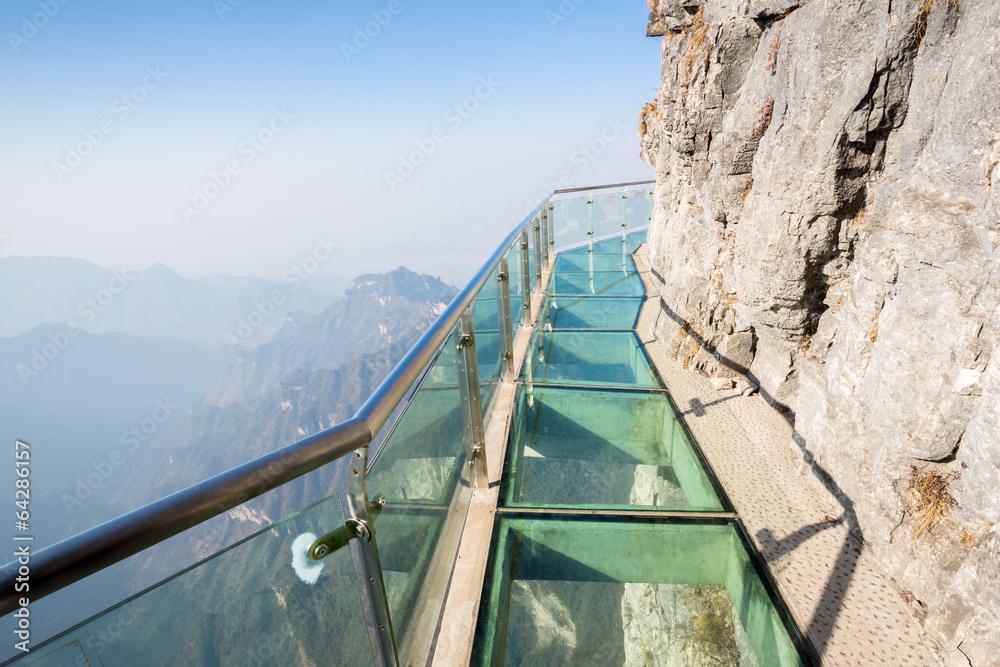 Fototapety, obrazy: Tianmenshan Tianmen Mountain China