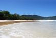 Praia Lopes Mendes beach at Ilha Grande Island Brasil