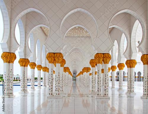Spoed Foto op Canvas Abu Dhabi Sheikh Zayed mosque
