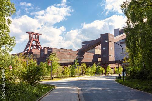 Fotografie, Obraz  Gelände der Zeche Zollverein Essen