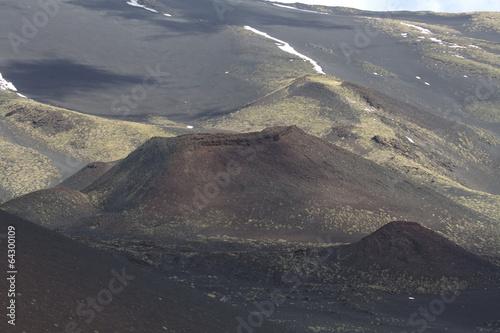 Papiers peints Volcan Etna sylvester crater
