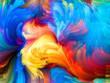 canvas print picture - Accidental Color