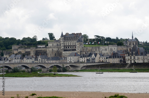 Photo  Amboise castle .Valley of the river Loire. France