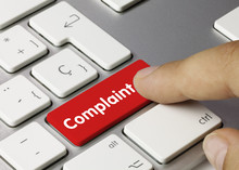 Complaint. Keyboard