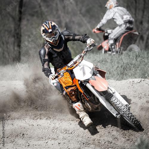 fototapeta na lodówkę gara di motocross