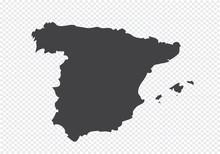 Map Of Spain Idea Design