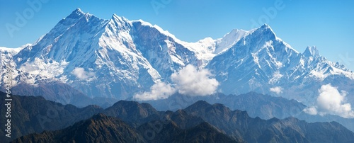 Wall Murals Nepal view of Annapurna Himal
