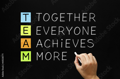 TEAM Together Everyone Achieves More Canvas-taulu