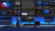 News studio 101C2(close up)
