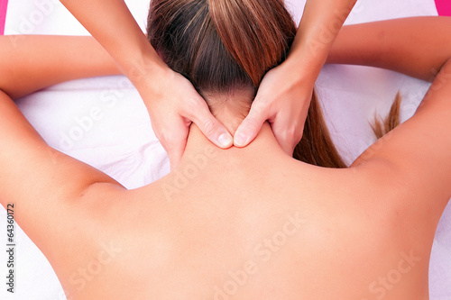 Photo  cervical mobilization manual therapy cervical spine
