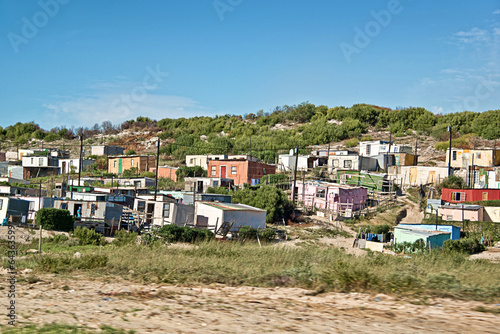 Canvas-taulu Township near Cape Town, South Africa