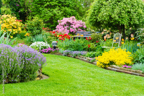 Papiers peints Jardin Gartenidylle