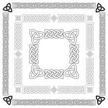 Celtic Knots, Patterns, Frameworks Vector