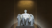 Washington, DC - Lincoln Memorial At Night