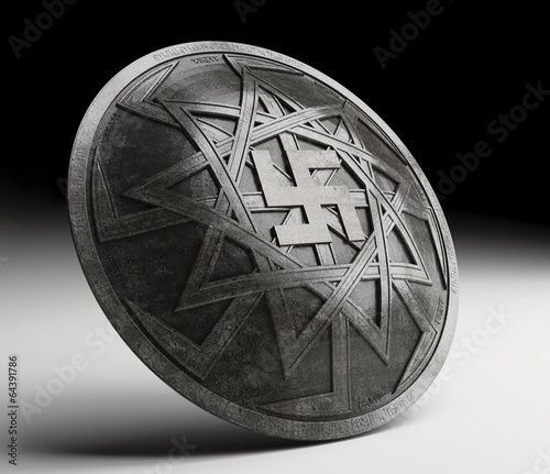 Fotografie, Obraz shield Prophetic Oleg - Prince of Novgorod and Kiev