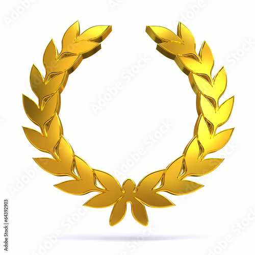 Fotografie, Obraz  3D laurel wreath