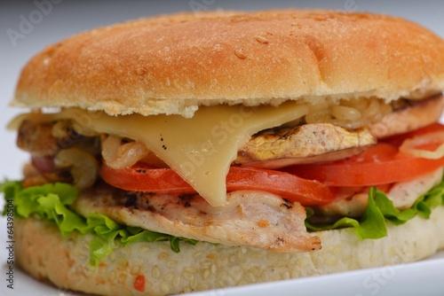 Fototapety, obrazy: hamburger