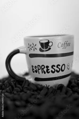 Photo Stands Coffee beans Morning Coffee