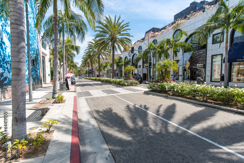 Photo sur Toile Los Angeles Rodeo Drive