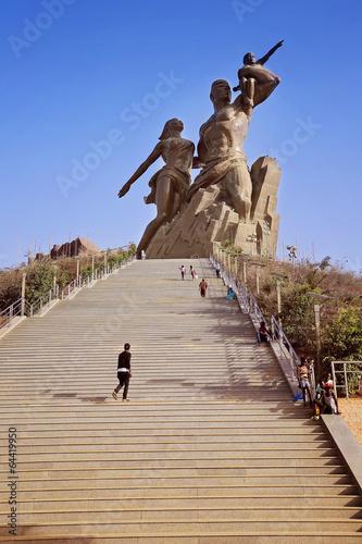 Fotografía  monument de la Renaissance Africaine (Dakar)