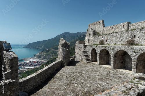 Fotografia Salerno - Castello Arechi e Costiera Amalfitana