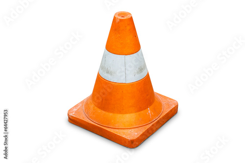 Fotografía  Road bollard traffic cone