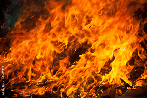 Foto op Canvas Vuur blaze fire flame