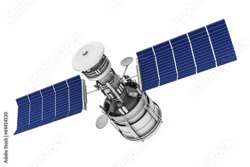 Photo  Satellite communications.