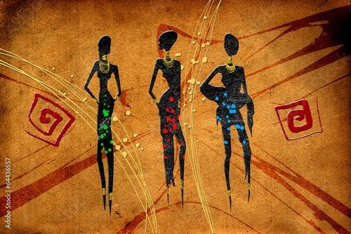 afrykanski-motyw-etniczne-retro-vintage