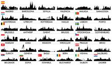 City skyline European Co...