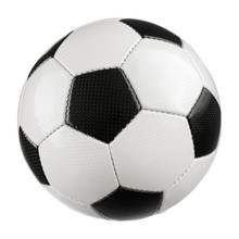 Fußball Auf Reinem Weiß