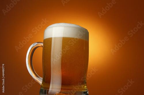 Foto op Plexiglas Bier / Cider ビール!