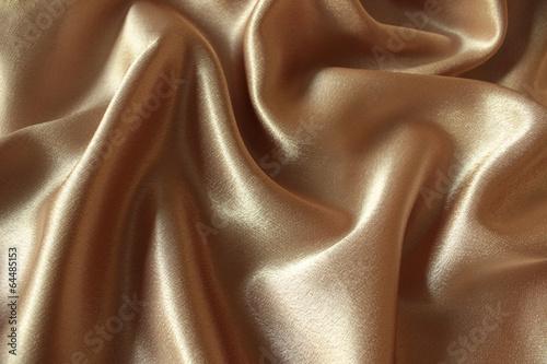 Recess Fitting Buddha Draped gold satin background