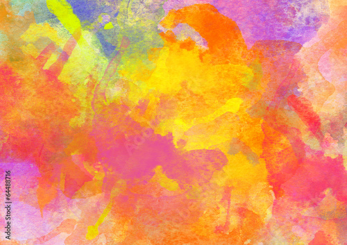 Photo  Colorful Watercolor Background.