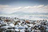 Fototapeta Fototapeta kamienie - Lago di Garda