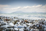 Fototapeta Rocks - Lago di Garda