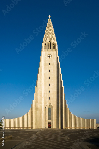 Fotografering  The Hallgrimskirkja