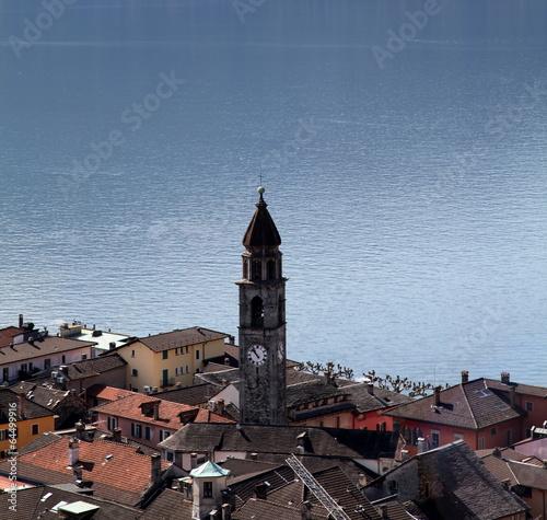 Tuinposter Purper Le coeur d'Ascona.