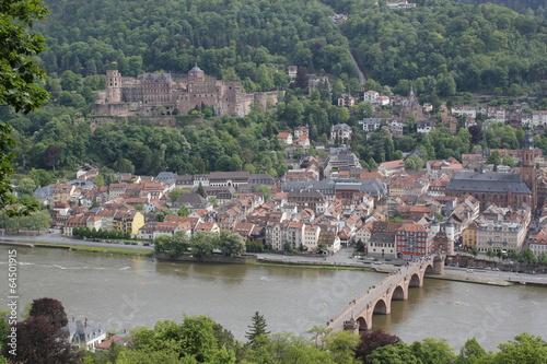 Fotobehang Liguria Old Town of Heidelberg