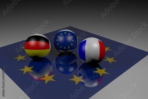 Fotografia  Entente Franco-Allemande