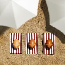 Easter Eggs Taking Sun Bath