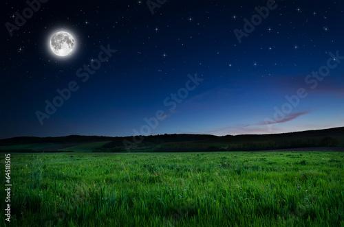 La pose en embrasure Nuit night background