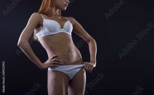 Fotografie, Obraz Perfect female body