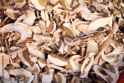 Fotografie, Obraz  funghi porcini esiccati
