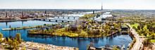 Panorama Of Riga City. Latvia
