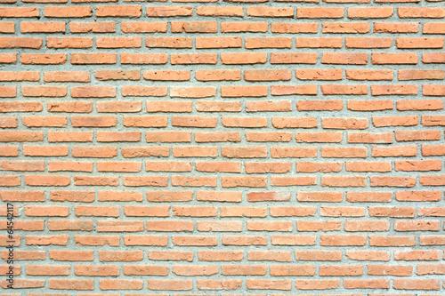 Poster Brick wall red brick wall texture