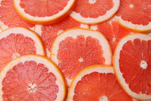Ripe Grapefruit Close-up